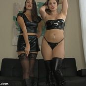 Sherri Chanel and Brittany Marie Double Domme Boot CBT HD Video 261018 mp4
