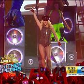 Britney Spears Medley Good Morning America 071018 vob