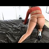 Kalee Carroll Red Fishnet Tease Video 336 281018 mp4