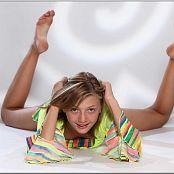 TeenModelingTV Alizee Rainbow Skirt Picture Set