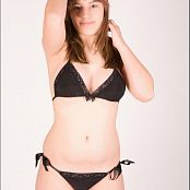 TeenModeling TV Christin Black Lace Pics 3213