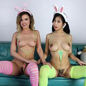 Teenikini Dillion Harper and Jade Kush Hump Bunnies Set 063 061