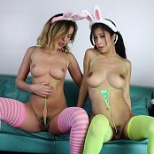 Teenikini Dillion Harper and Jade Kush Hump Bunnies Set 063 065