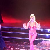 Britney Spears Medley Live POM Sexy Red Outfit HD Video