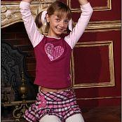 TeenModelingTV Alizee Schoolgirl Picture Set