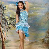 Silver Stars Sabina Dance Costume Set 3 0155