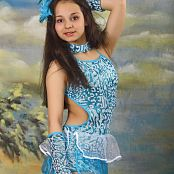 Silver Stars Sabina Dance Costume Set 3 0158