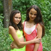 Silver Stars Sabina & Amy Forest Path Picture Set 001