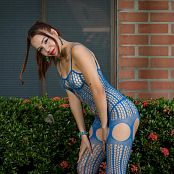 Mellany Mazo Blue Bodysuit TCG Set 034 010