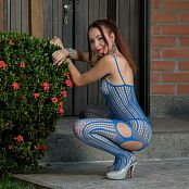 Mellany Mazo Blue Bodysuit TCG Set 034 054