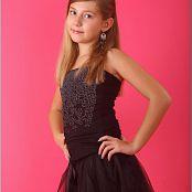 TeenModelingTV Alissa Black Tulle 007