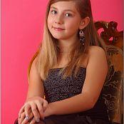 TeenModelingTV Alissa Black Tulle 058