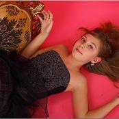 TeenModelingTV Alissa Black Tulle Picture Set