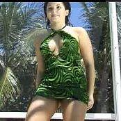 Missy Vid 29 Part 1 Green Black Minidress 071018 mpg