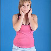 TeenModelingTV Christin Pink Tank Picture Set