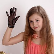 Silver Alissa Lace Gloves Picture Set 001