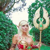 Jessica Nigri Patreon Blood Elf In Italy 001