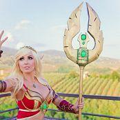 Jessica Nigri Patreon Blood Elf In Italy 005