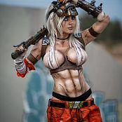 Jessica Nigri Patreon Krieg 001