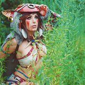 Jessica Nigri Patreon Princess Mononoke 001
