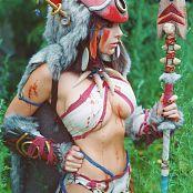 Jessica Nigri Patreon Princess Mononoke 002