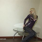 Young Gusel Shiny Catsuit Striptease HD Video 011218 wmv
