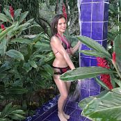 Alexa Lopera Black Lingerie Baby Oil Shower TCG 4K UHD & HD Video 008