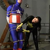 Goddess Alexandra Snow Draining Captain America HD Video