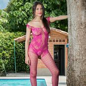 Britney Mazo Pink Bodysuit TBS Picture Set 037