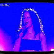 Bluemchen aka Jasmin Wagner Gib mir noch Zeit ZDF Chart Attack cc 071018 mpg