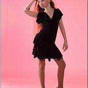 TeenModelingTV Alice Black Dress 043