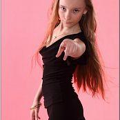 TeenModelingTV Alice Black Dress 050