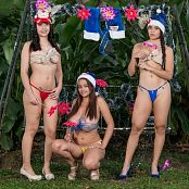 Jasmin Sofia & Azly Pose In Christmas Lingerie JTM Picture Set 058