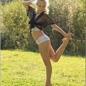 TeenModelingTV Alice Black Shawl 011