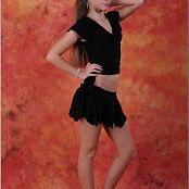 TeenModelingTV Alice Black Skirt 002