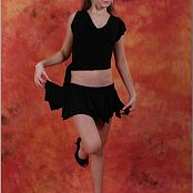 TeenModelingTV Alice Black Skirt 010