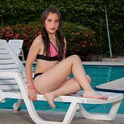 Angie Narango Pink and Black Bikini TM4B Set 008 049