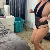 Kalee Carroll Black Dress HD Video 382