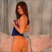 Halee Model Pink & Blue Short Shorts Video