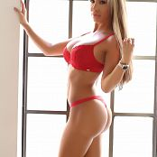 Alluring Vixens 2018 05 14 Kimmy Gallery A Lil Red Lace alluringvixens 020