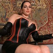 Goddess Alexandra Snow Mistress In Leather HD Video