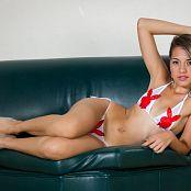Angelita Model White Bikini TM4B Set 004 010