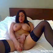 Sweet Krissy Pink Fishnets Big Toy Zipset 21 Video