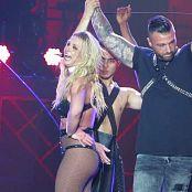 Britney Spears Freakshow With Fan on Stage 2018 HD Video