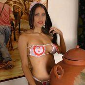 Britney Mazo Red Maid Costume TBS 4K UHD Video 046 070219 mp4
