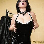 Goddess Alexandra Snow Glossy Rubber Jerk Video 120219 mp4