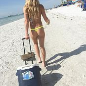 Madden Thong On The Beach Picture Set
