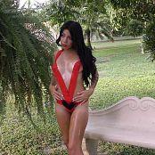 Samantha Gil Red V Cut Lingerie TM4B 4K UHD & HD Video 005
