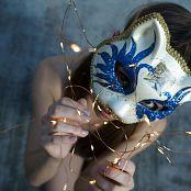 Ariel Rebel Cat Mask Bokeh Picture Set