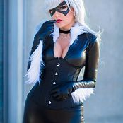 Darshelle Stevens Black Cat Picture Set